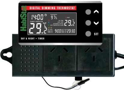 habistat dimming thermostat instructions